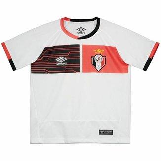 Camisa Umbro Joinville II 2016 Juvenil Branca 77d0387d111