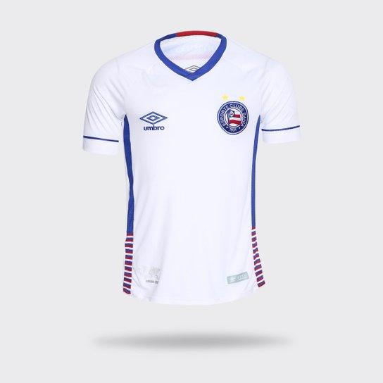 Camisa Umbro Bahia 2018 II SK-1 Branca Masculina - Compre Agora ... f9fbefb231e69