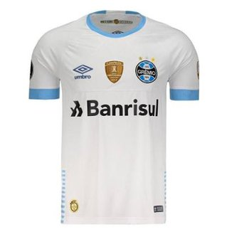 Camisa Umbro Grêmio II 2018 Libertadores Masculina 4a86f51c5ee6b