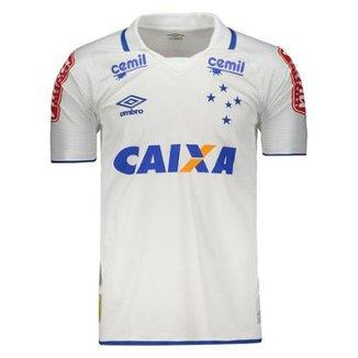 cc5fc200a3 Camisa Umbro Cruzeiro II 2017 Com Patrocínio Masculina