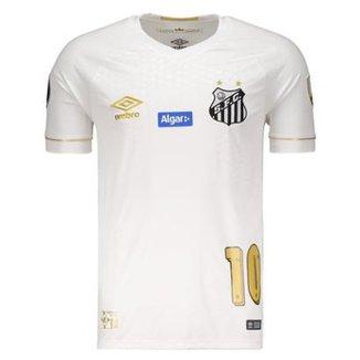 Camisa Umbro Santos I 2018 Libertadores N°10 Gabriel B. Masculina 0b7d53e64c9af