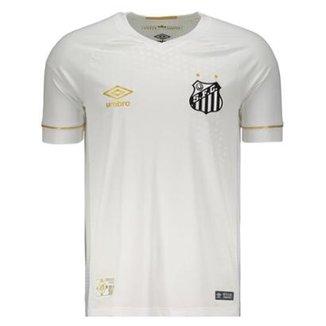 2972609fc5 Camisa Umbro Santos I 2018 N°10 Jogador Masculina