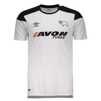 Camisa Umbro Derby County Home 2018 Masculina d7fd174463e83