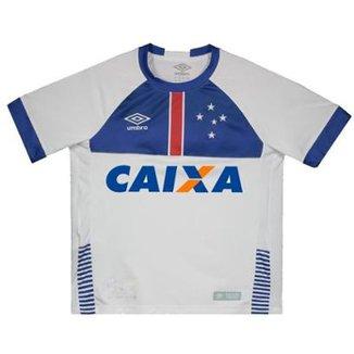 Camisa Umbro Cruzeiro II 2018 Blar Víkingur Juvenil 74652b7fd97