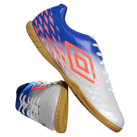 3c2e803ad4 Chuteira Futsal Umbro Fifty II - Branco - Compre Agora