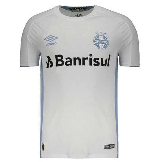 321b6998ac8df Camisa Umbro Grêmio II 2019 - Branco | Netshoes