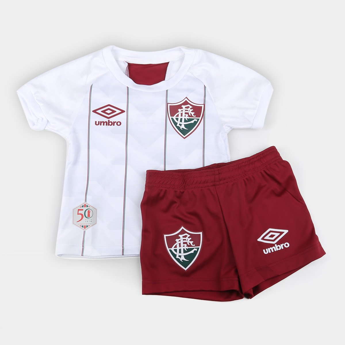 Kit Fluminense Infantil II 20/21 s/n° Torcedor Umbro