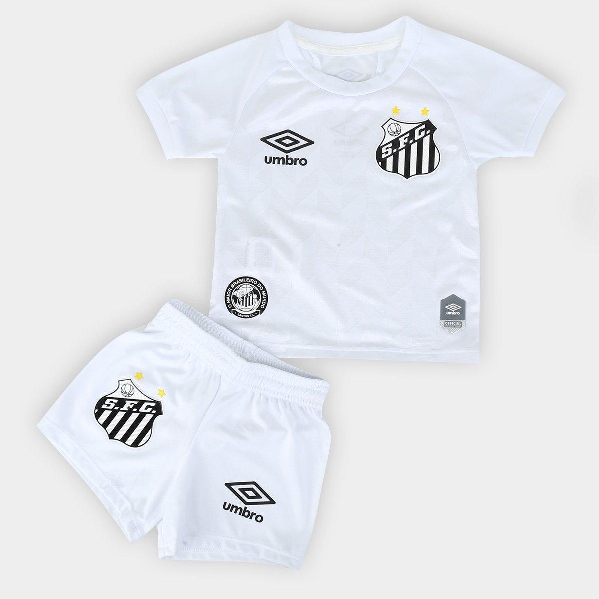 Kit Santos Infantil I 20/21 s/n° Torcedor Umbro