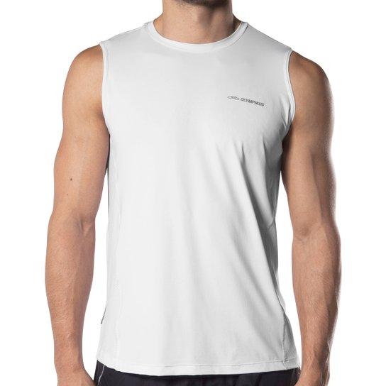 44c32eeff8 Camiseta Regata Olympikus Performance - Branco