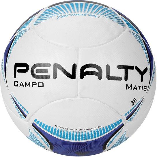 Bola Penalty Matis Termotec 5 Campo - Branco+Azul Claro e5d909fdaa4be