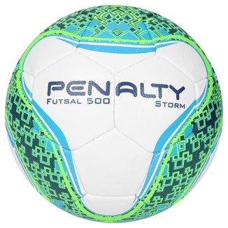 c2c9884580985 Bola Futsal Penalty Storm Com Costura à Mão 6