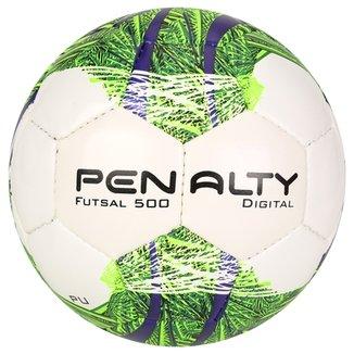 Bola Futebol Penalty Digital 500 5 Futsal 33852e1193dd8