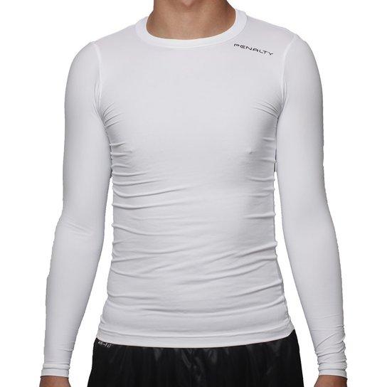 015ee470a0 Camisa Térmica Penalty Matis Vi 16 - Branco - Compre Agora