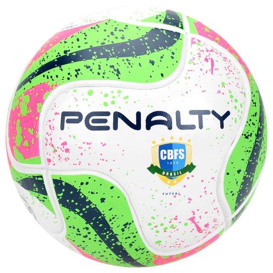 d0a8ae9907ffa Bola Futsal Penalty Max 100 Termotec 7 CBFS - Branco+Verde Claro