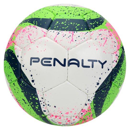 Bola Futsal Penalty Max 500 Com Costura 7 - Branco+Verde Claro eab677907e523