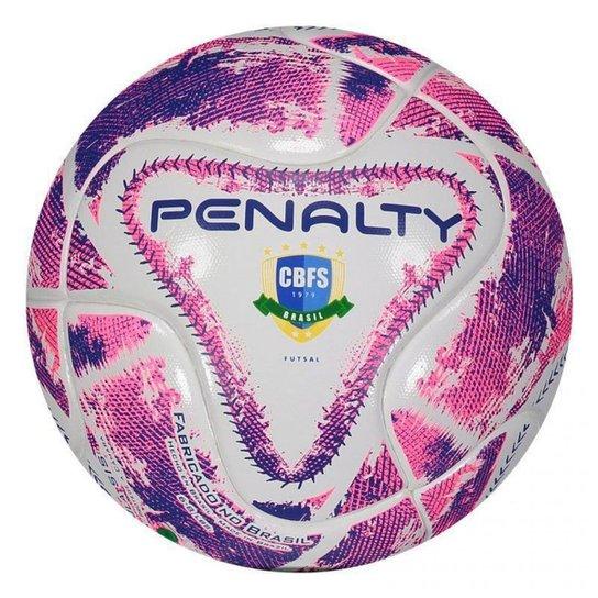 Bola de Futsal Penalty MAX 100 Termotec - 541341 - Branco - Compre ... ebdb74595e12b