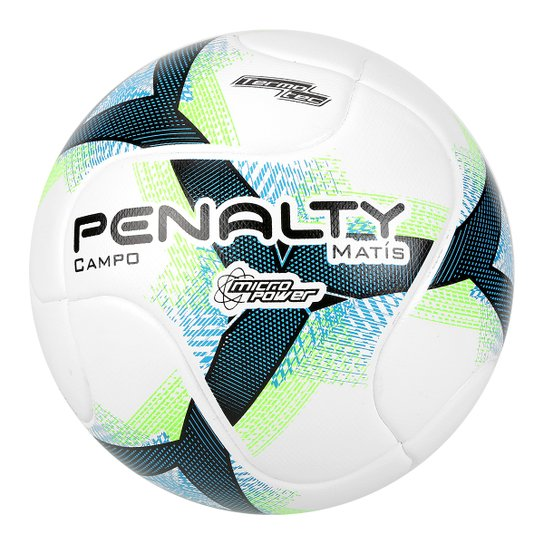 a850dc8bba Bola Campo Penalty Matis Termotec VIII - Branco e Verde - Compre ...