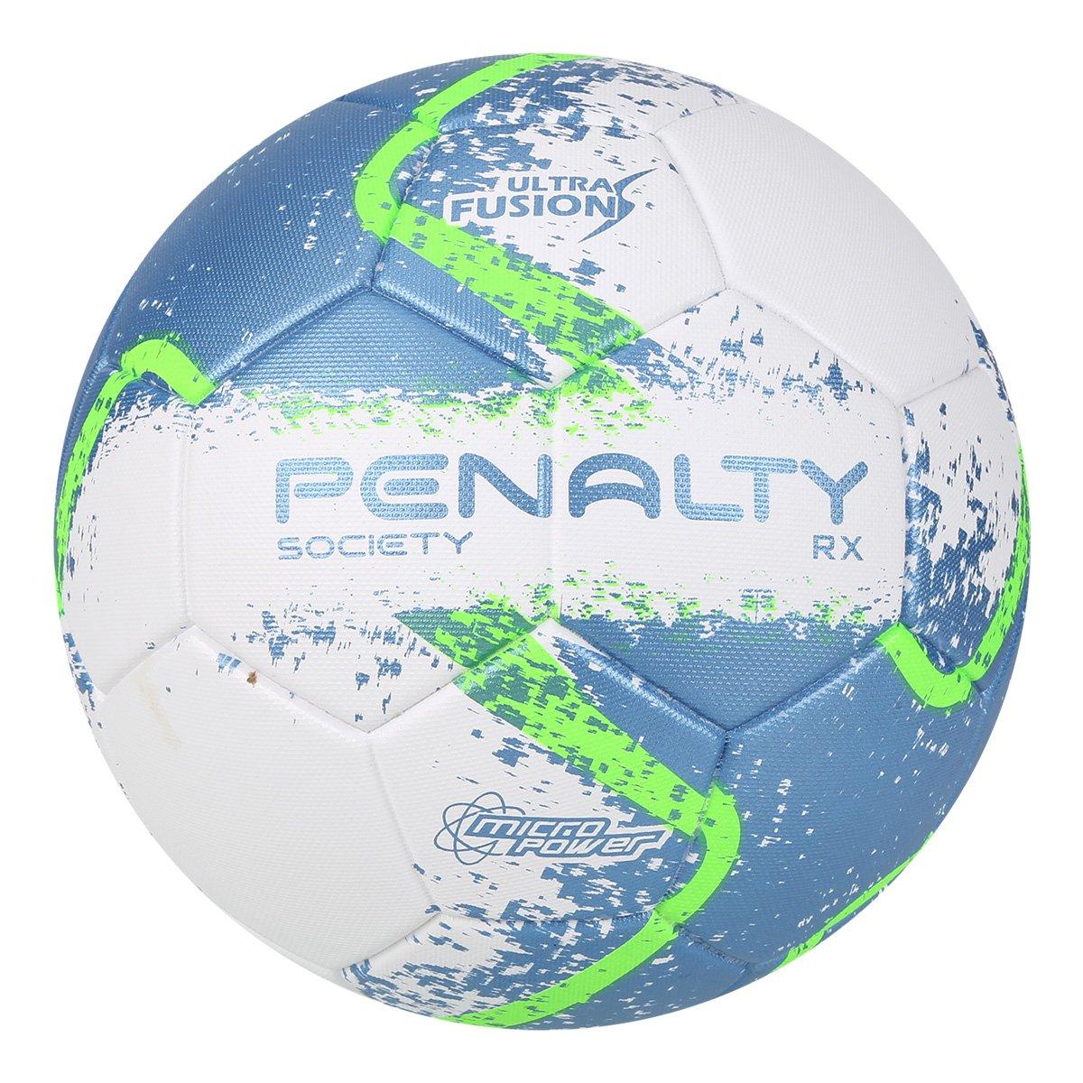 1ff521544e Bola Futebol Society Penalty RX R2 Fusion VIII