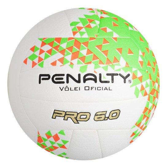 4d2cd7765 Bola Vôlei 6.0 Pro VIII Penalty - Branco - Compre Agora