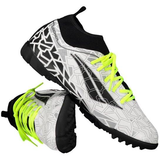 Chuteira Futsal Penalty Rx Locker VII - Branco - Compre Agora  d6ca7d53760be