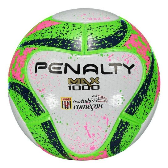5aaf9c42ad013 Bola Penalty Max 1000 FPFS VII Futsal - Compre Agora