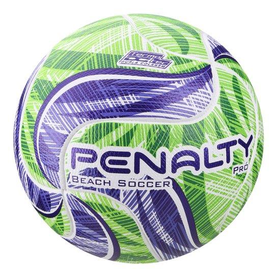67571059d Bola de Futebol de Areia Penalty Beach Soccer Pró IX - Branco e ...