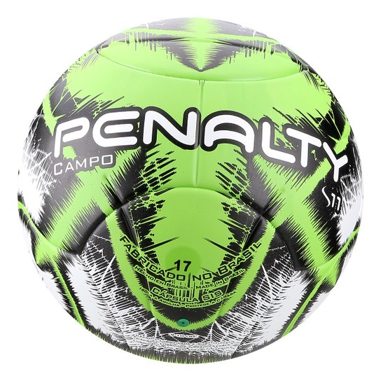 Bola de Futebol Campo Penalty S11 R3 IX - Branco e Verde - Compre ... be5e7229d6677