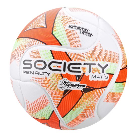 Bola de Futebol Society Matis VIII - Branco e Verde - Compre Agora ... d679637d9bcc2