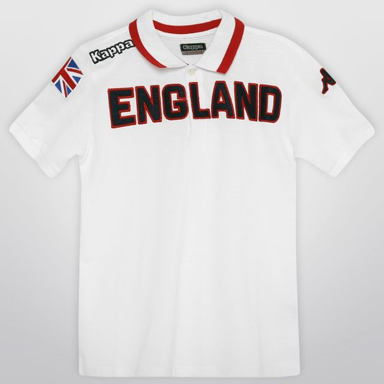 Camisa Polo Kappa Eroi Inglaterra Infantil - Compre Agora  acdc921b98d50