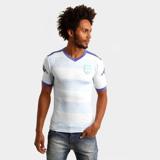 Camiseta Kappa Kombat Argentina Ellis - Compre Agora  628318e9bb96a