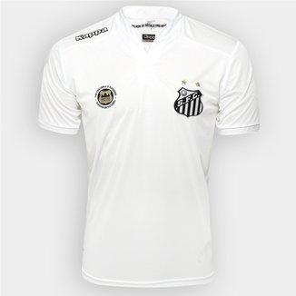 bfdcf76b8ecea Camisa Santos I 2016 s nº Torcedor Kappa Masculina