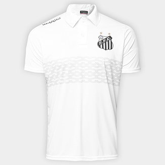 Camisa Polo Santos Geraldino 17 Masculina fd2b389a54a16