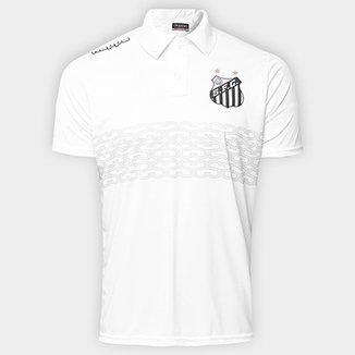 77c99be9df Camisa Polo Santos Geraldino 17 Masculina