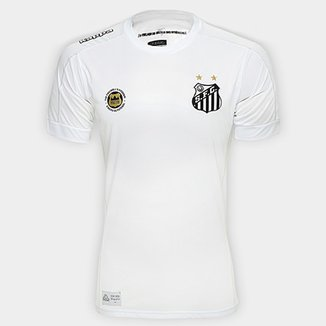 Camisa Santos I 17 18 s nº Torcedor Kappa Masculina 7eb2deeb12599
