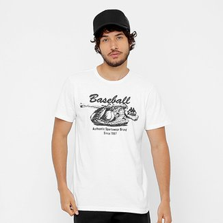 3ad6adc3a Camiseta Kappa Baseball Vintage Masculina