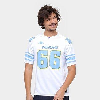 Camiseta Miami Kappa Futebol Americano Masculina d4575c82042c9