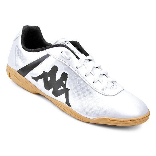 8d8e67e4bd Chuteira Futsal Kappa Torpedo - Branco - Compre Agora