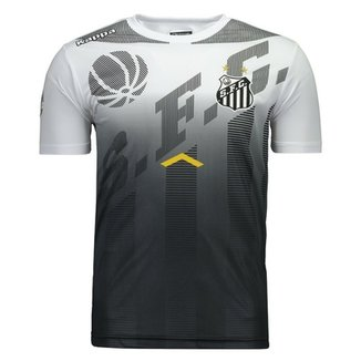 8a6660e33f Camisa Kappa Santos Comissão Técnica 2017 Masculina