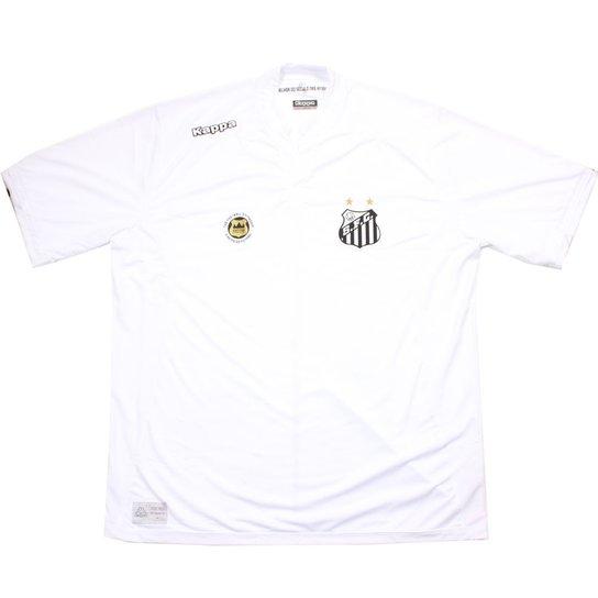 Camisa Kappa Santos Official 2016 - Branco - Compre Agora  39e290f1e68b2