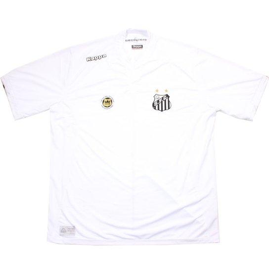 Camisa Kappa Santos Official 2016 - Branco - Compre Agora  bf3b222118313