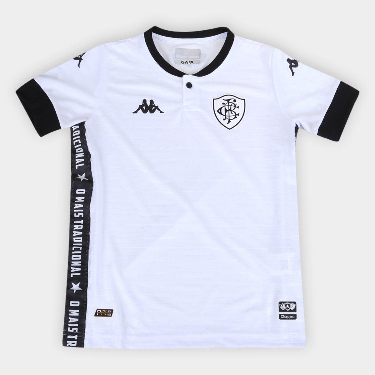 Camisa Botafogo Infantil III 21/22 s/n° Torcedor Kappa