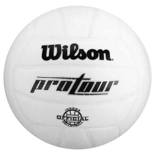 e6bf9a0546 Bola de Vôlei Wilson pro Tour BR - Branco - Compre Agora
