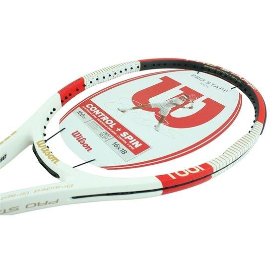 6dbfff32c Raquete Wilson Pro Staff 100L - Branco