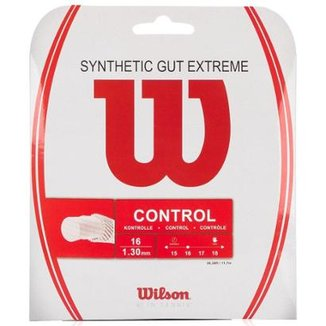 Corda Wilson Synthetic Gut Extreme 16L 1.30mm Natural - Set Individual 49f4475ccf851