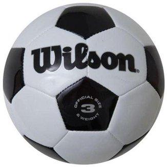 7b8f9584e Bola De Futebol Wilson Clássica Número 3