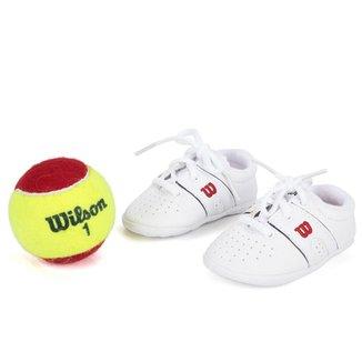 effe0df4f0 Tênis Wilson Kit Baby Pro Staff