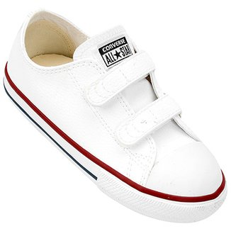 Tênis Infantil Converse Chuck Taylor All Star 2 Velcros Baby 22eeea6e7a9f1