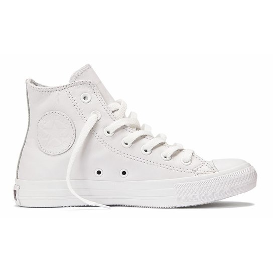 42ed1152542 Tênis Converse All Star Ct As Monochrome Leather Hi - Compre Agora ...