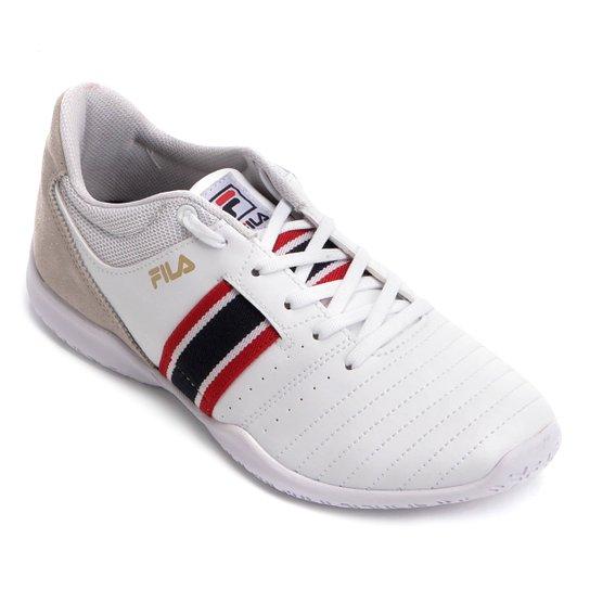 5e5d2fd1fc1c4 Chuteira Futsal Fila Top Munir - Branco - Compre Agora