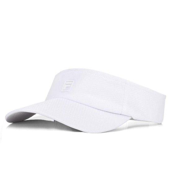 Viseira Fila Player - Branco - Compre Agora  08654d7b239